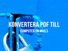 Datakryptering af din computer og mails