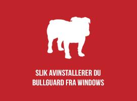 Slik avinstallerer du BullGuard fra Windows