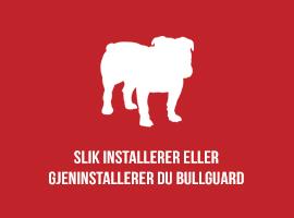 Slik installerer eller gjeninstallerer du BullGuard