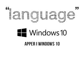 Slik skifter du språk i Windows 10
