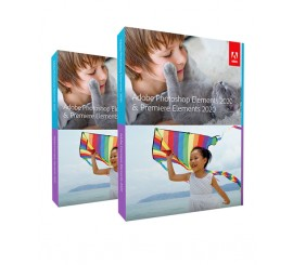 Adobe Photoshop Elements plus Adobe Premiere Elements